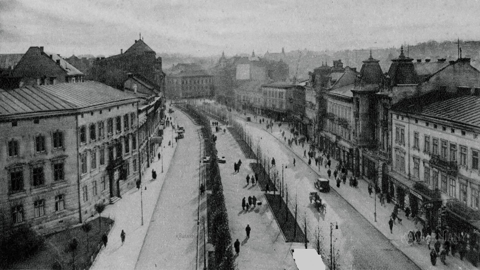 Ul. Akademicka, Lwów. Fot. domena publiczna