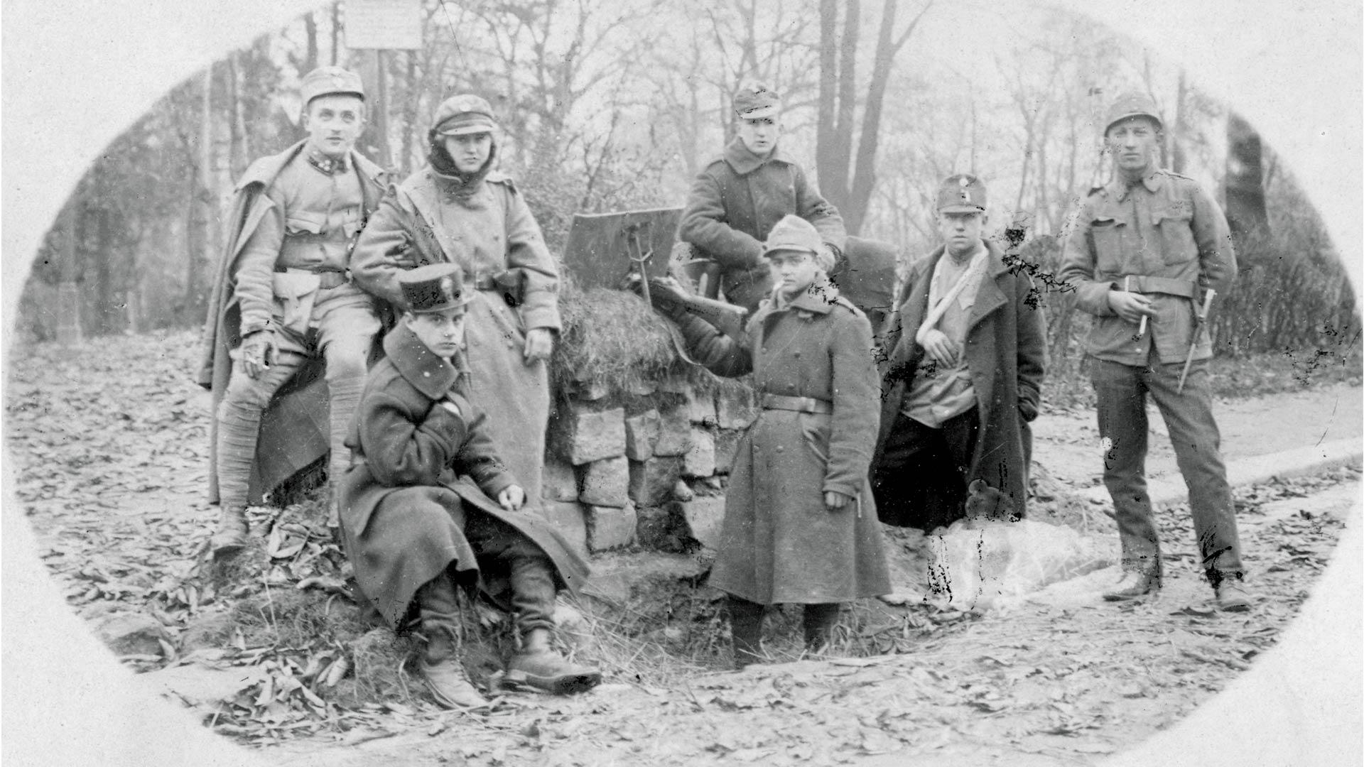 Obrońcy Lwowa, fot. NAC, 1-H-356-1