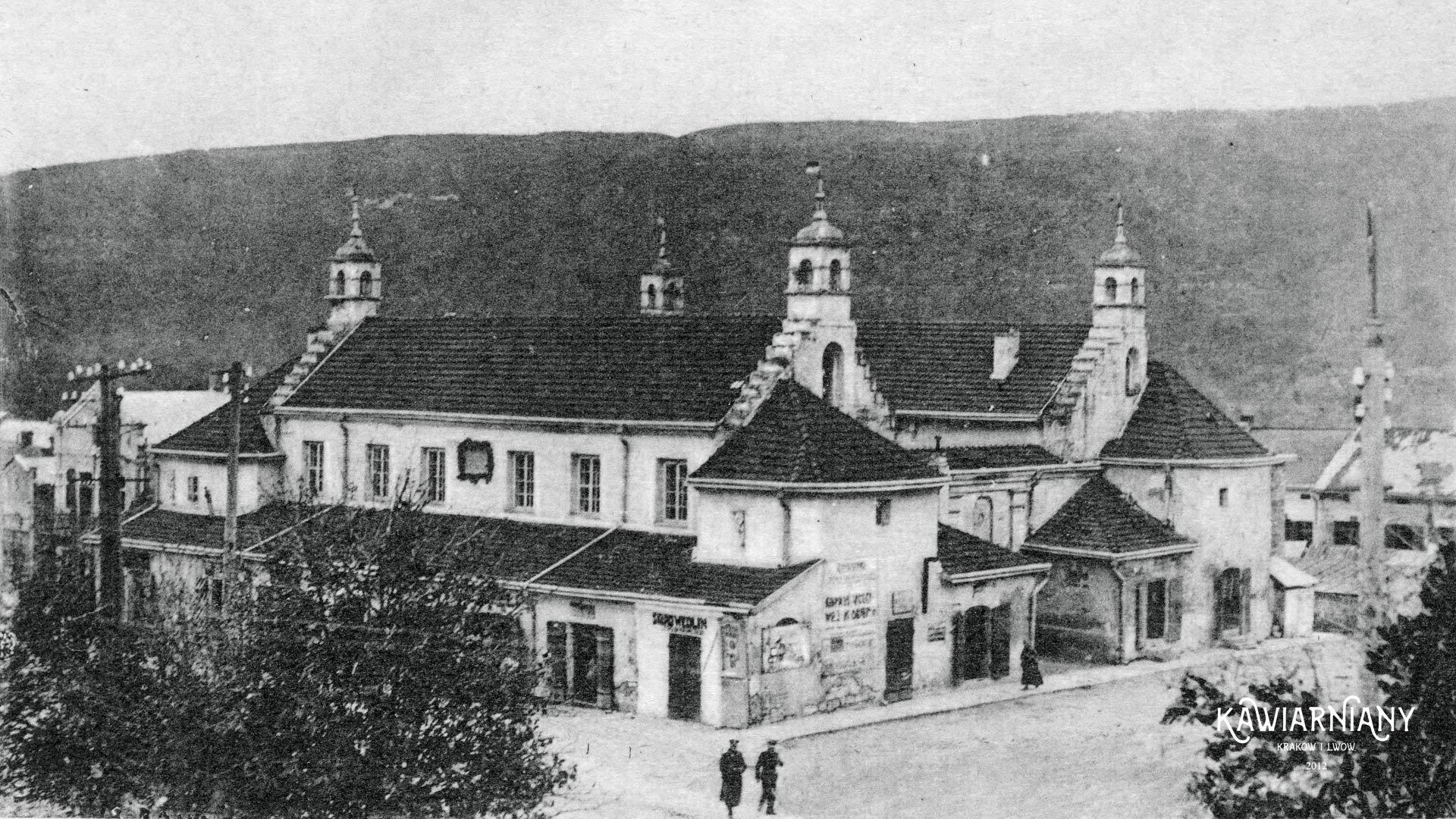 Zaleszczyki, Ratusz, lata 30-te. Fot. Domena Publiczna