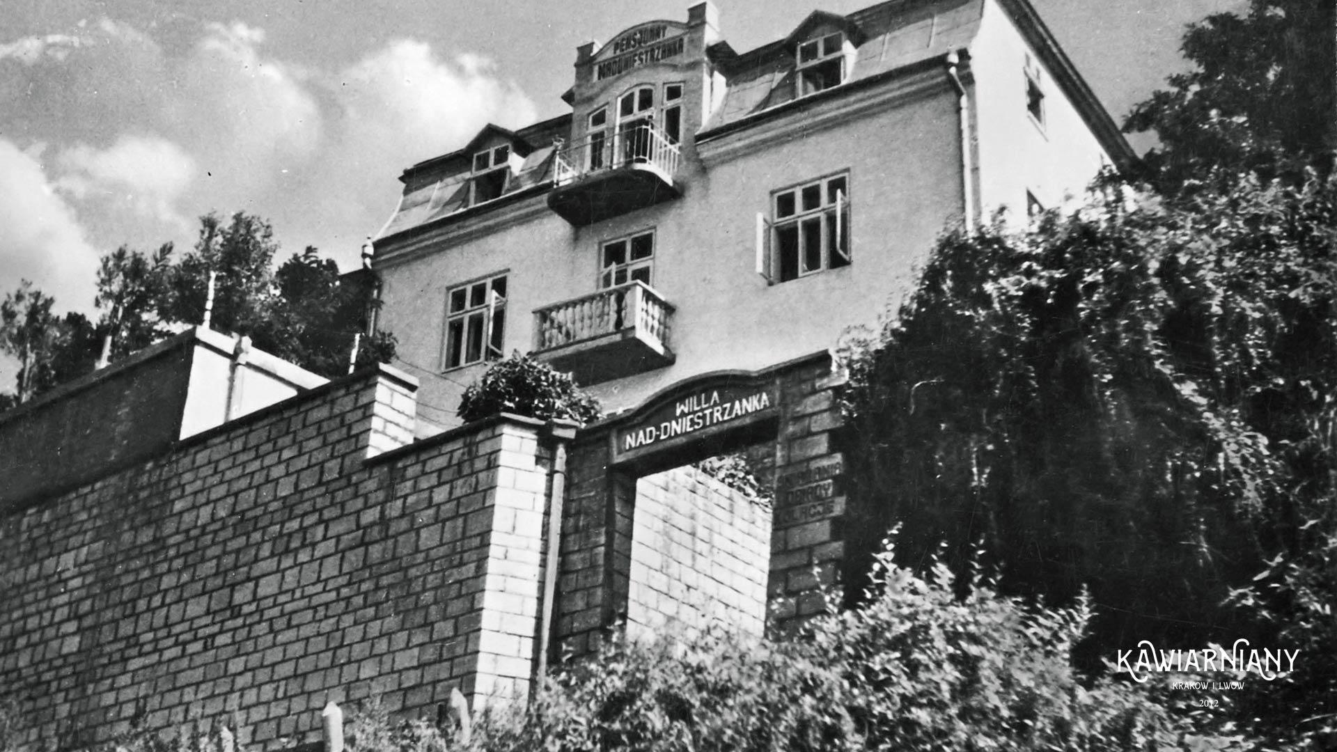Willa Naddniestrzanka, końcówka lat 30-tych. Fot. Domena Publiczna