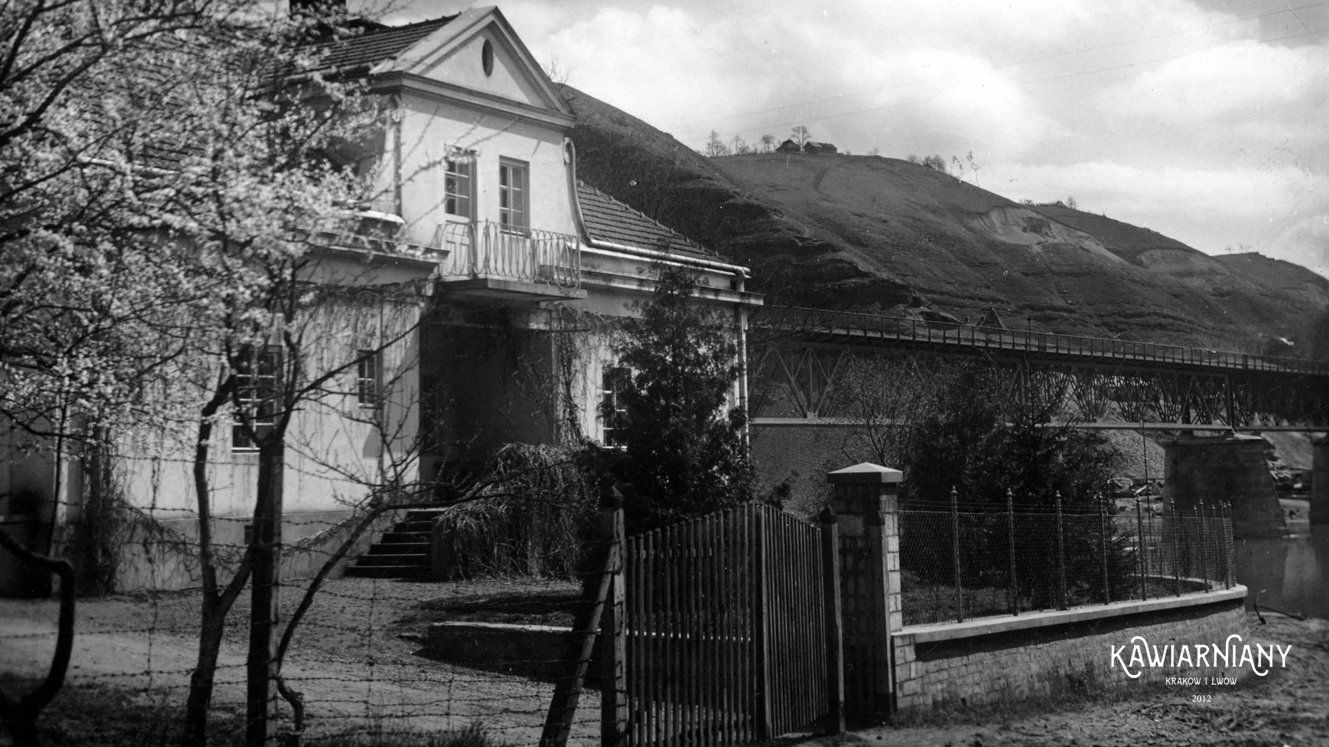 Willa w której w 1933 roku mieszkał Piłsudski, wyd. 1938 FOT-POL, domena publiczna