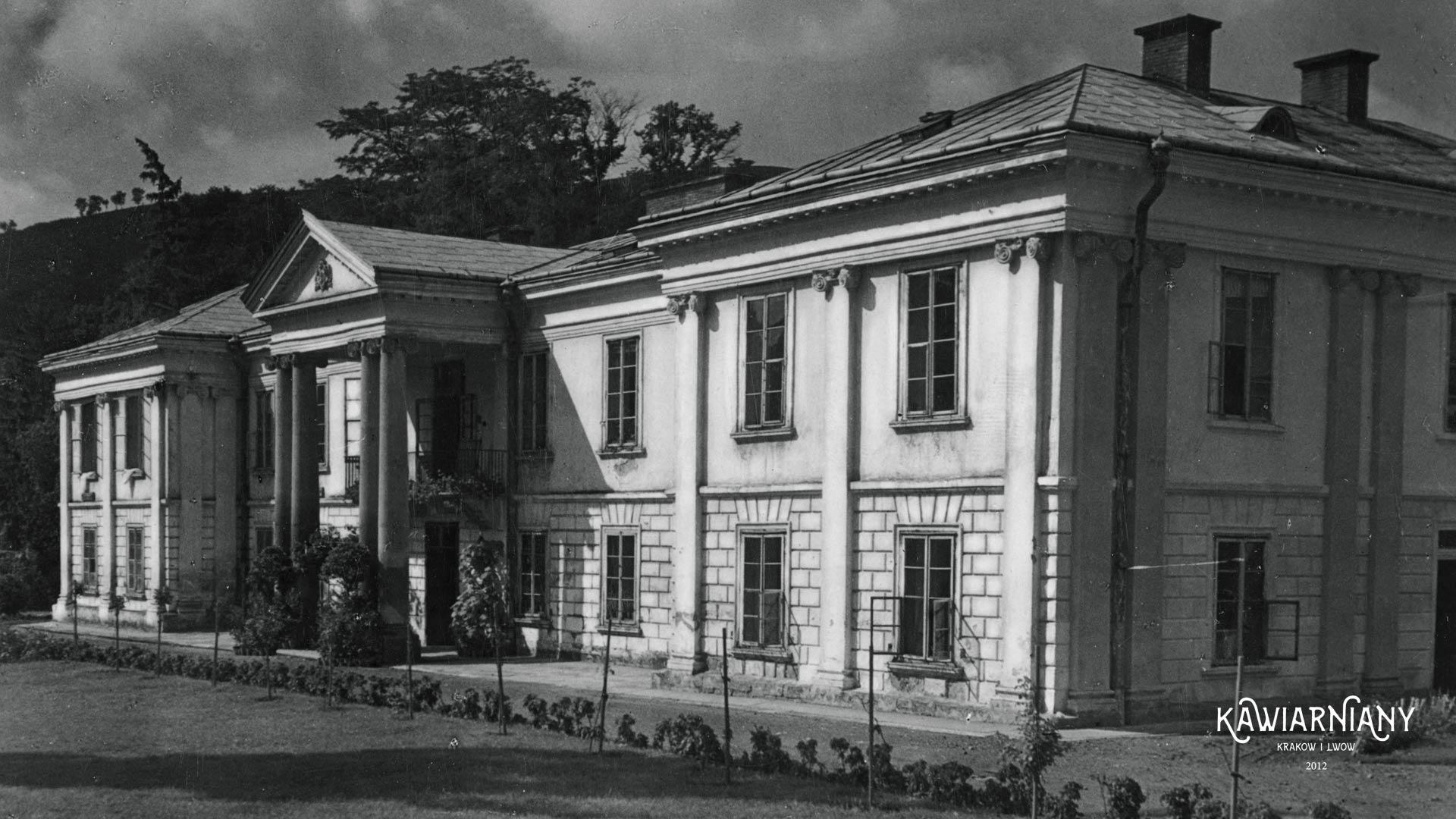 Pałac baronowej Turnau w Zaleszczykach, 1938, fot. Domena Publiczna, autor nieznany