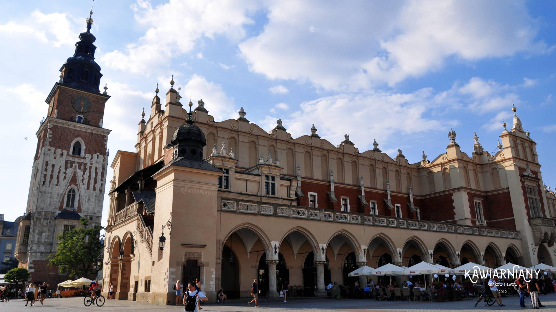 wieża ratusza w Krakowie