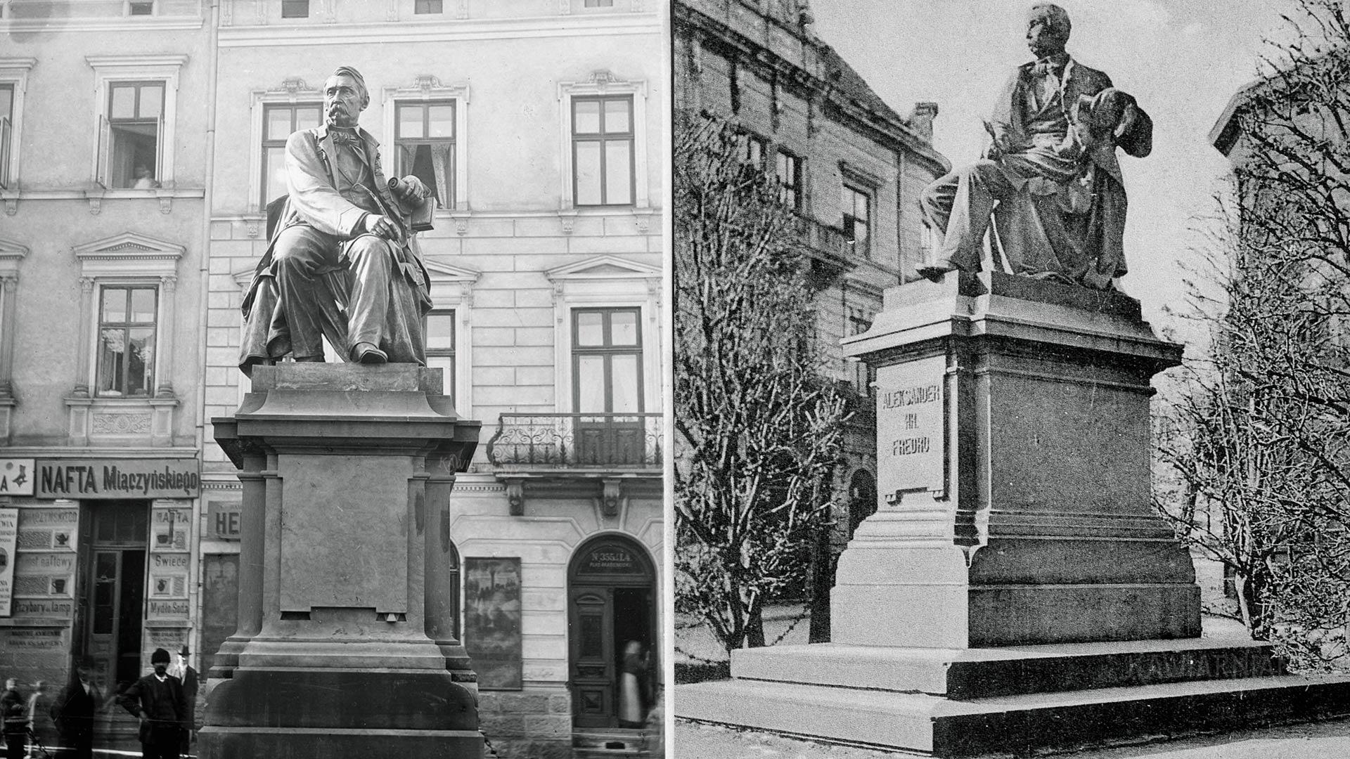 Pomnik Fredry, Lwów