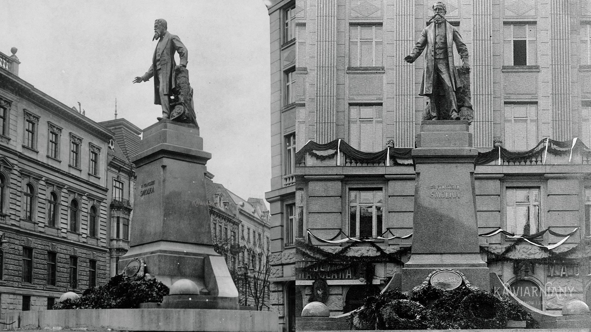 Pomnik Franciszka Smolki, Lwów