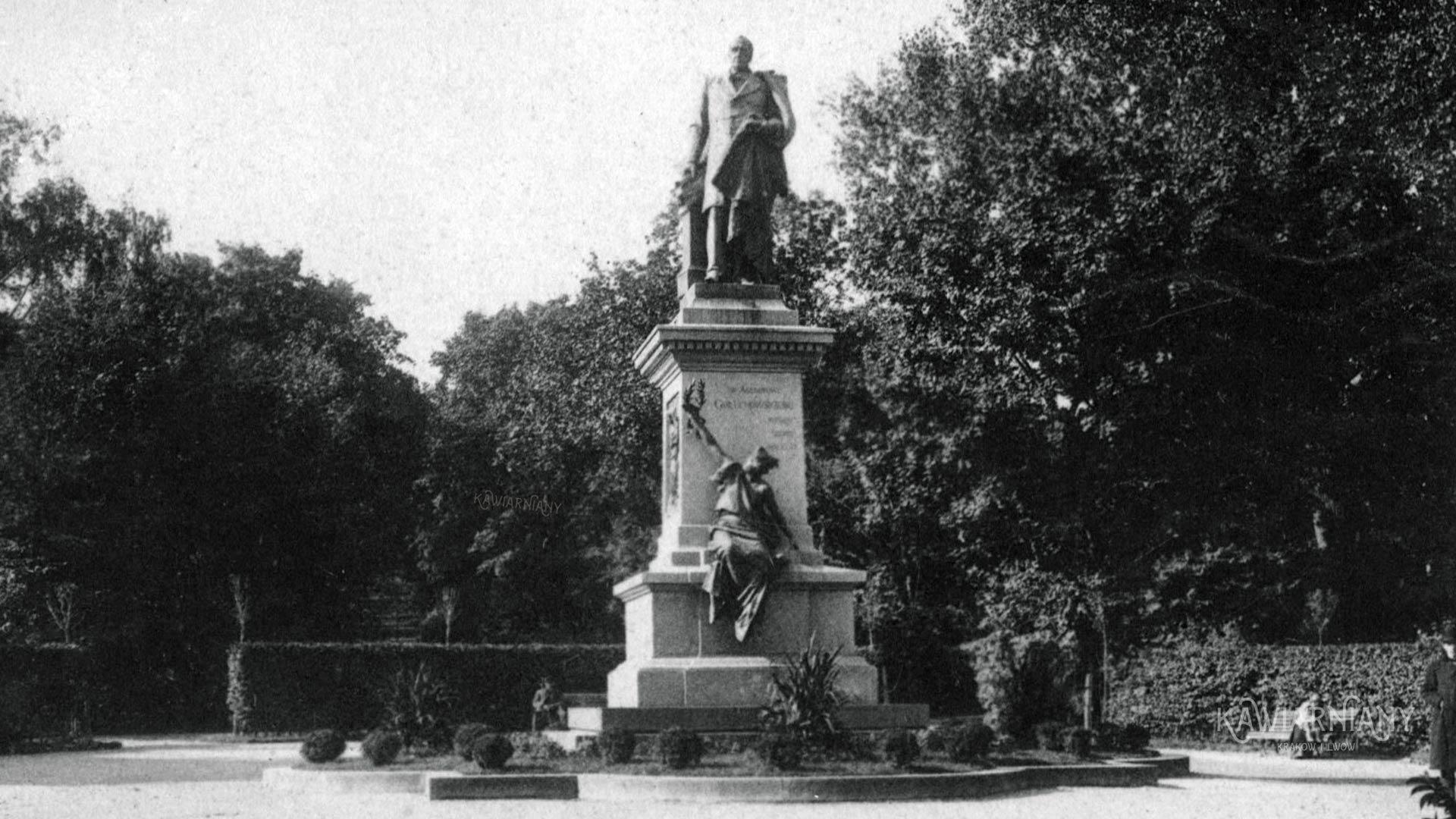 Pomnik Gołuchowskiego, Lwów