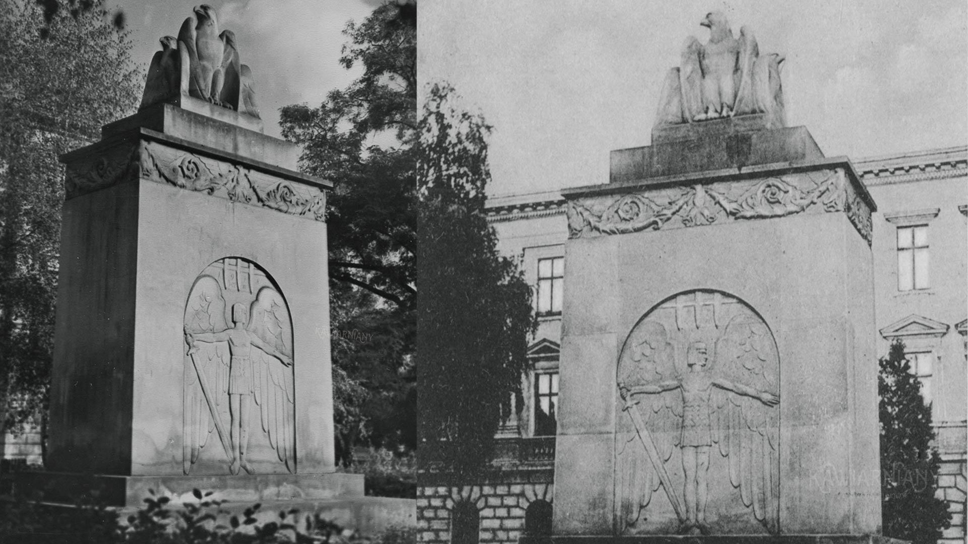Pomnik Obrońców Lwowa, Politechnika Lwowska