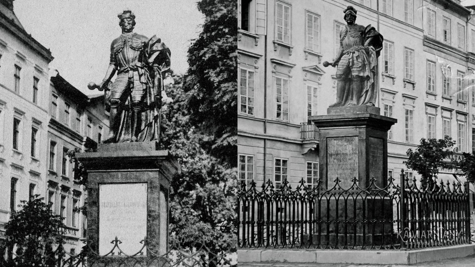 Pomnik Stanisława Jabłonowskiego, Lwów