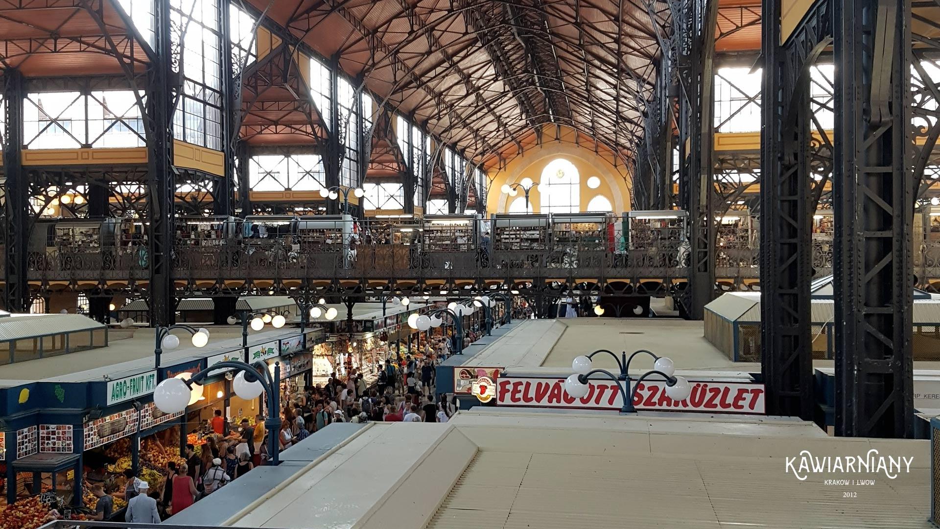 9 miejsc na swojskie zakupy. Hale targowe, targowiska i bazary w Budapeszcie