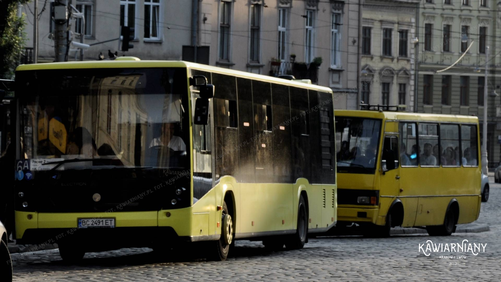 Darmowe WiFi we wszystkich komunalnych środkach komunikacji miejskiej we Lwowie