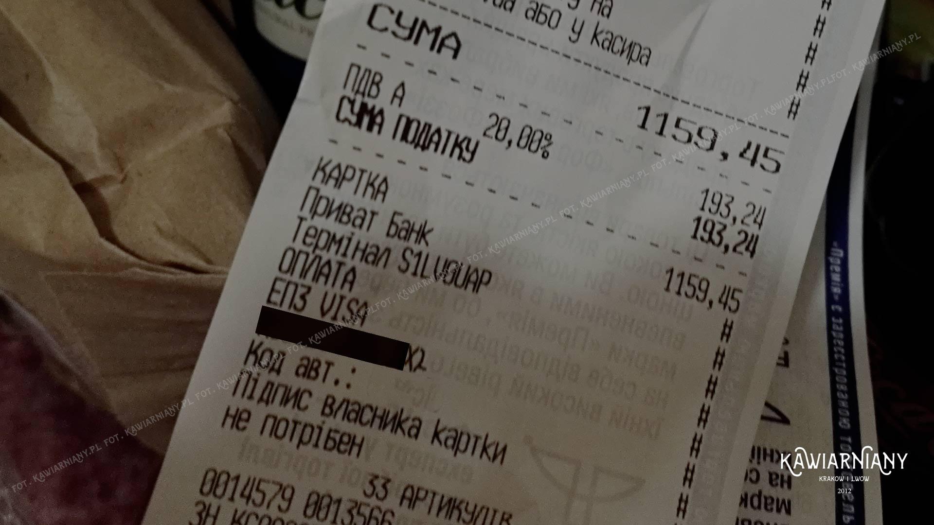 Płatność kartą we Lwowie i na Ukrainie