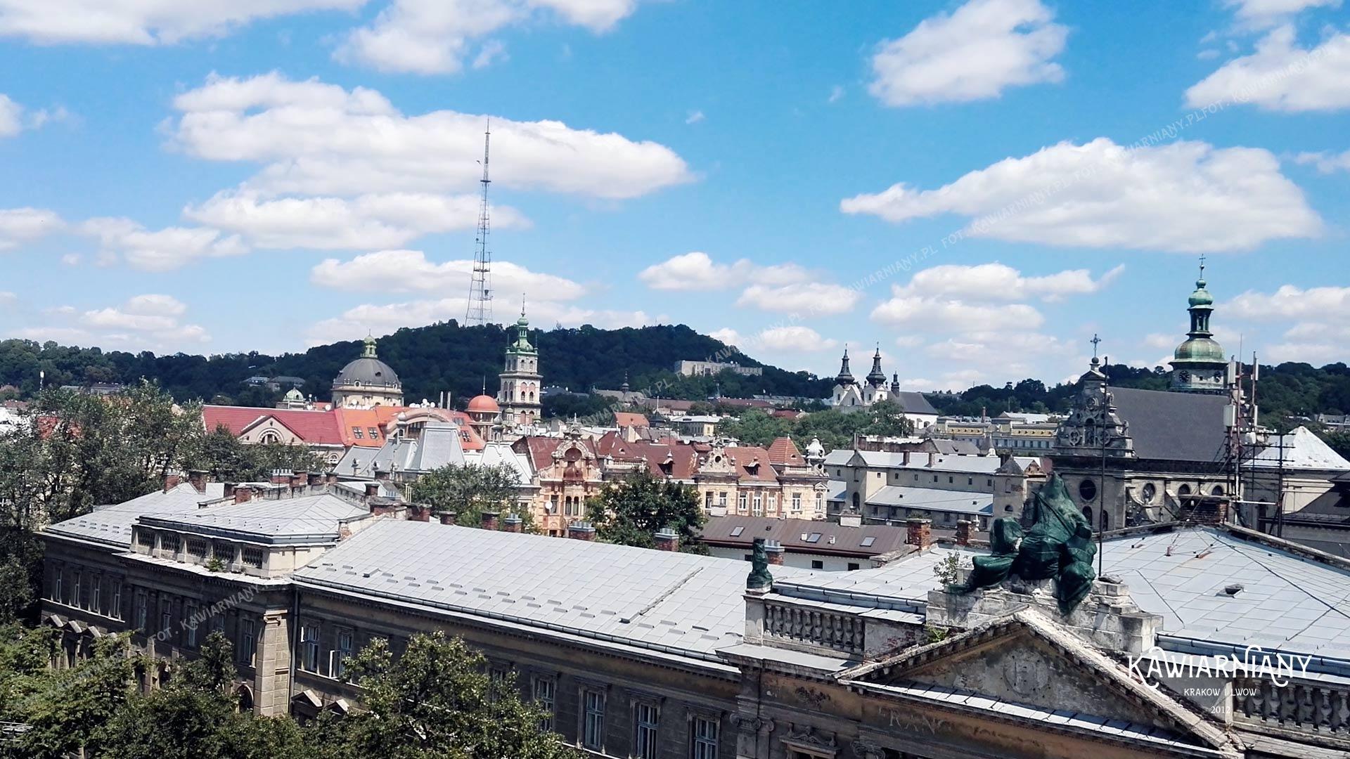 8 kawiarni i restauracji z widokiem na Lwów. Te punkty widokowe warto zwiedzić