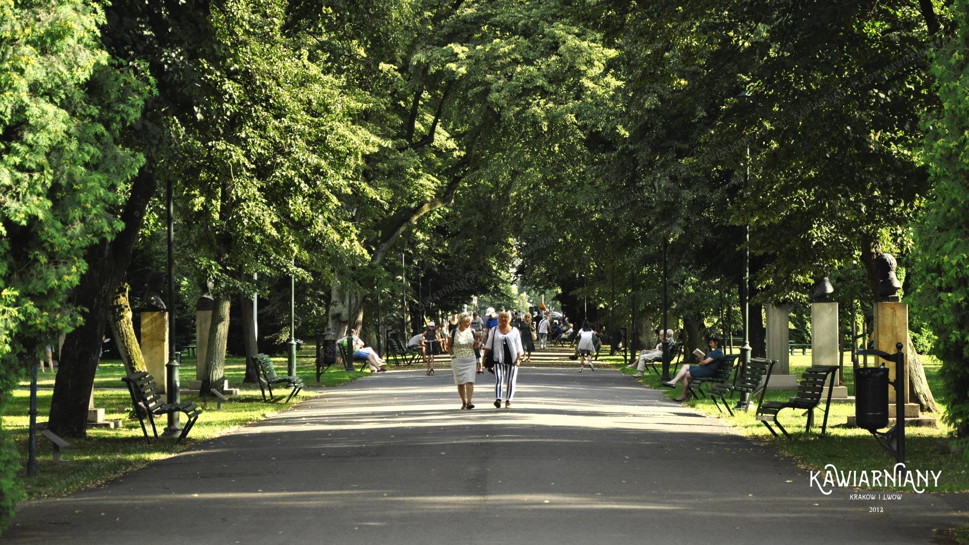 Park Jordana w Krakowie