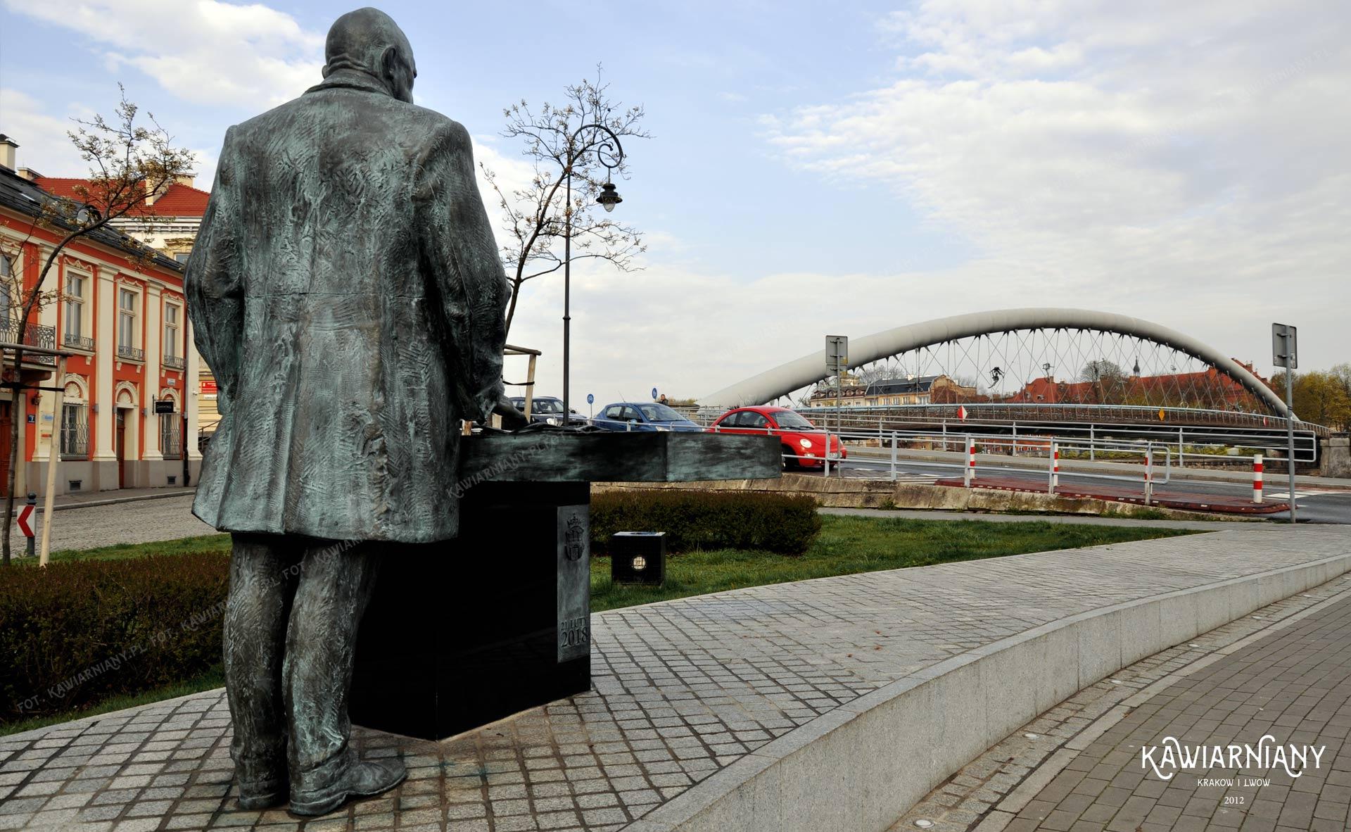 Pomnik Juliusza Lea w Krakowie