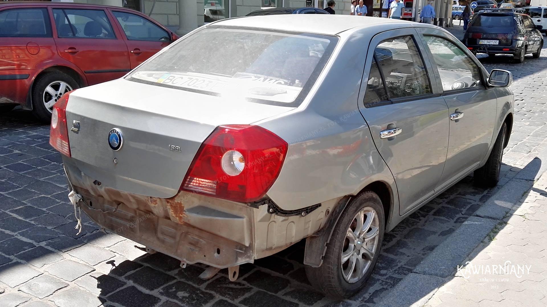 Czy na Ukrainie kradną samochody? Czy kradną auta we Lwowie?
