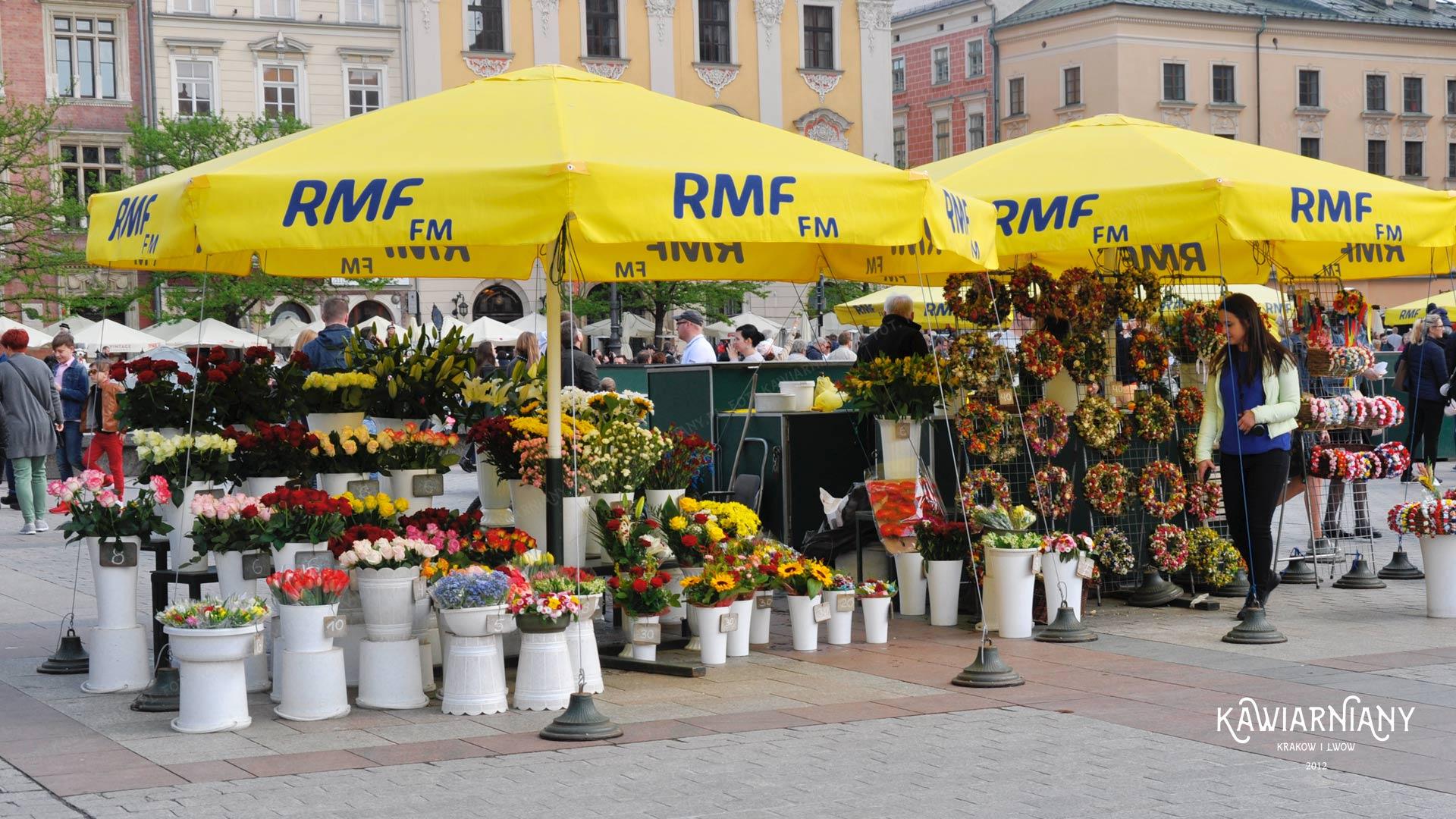 Kwiaciarki w Krakowie