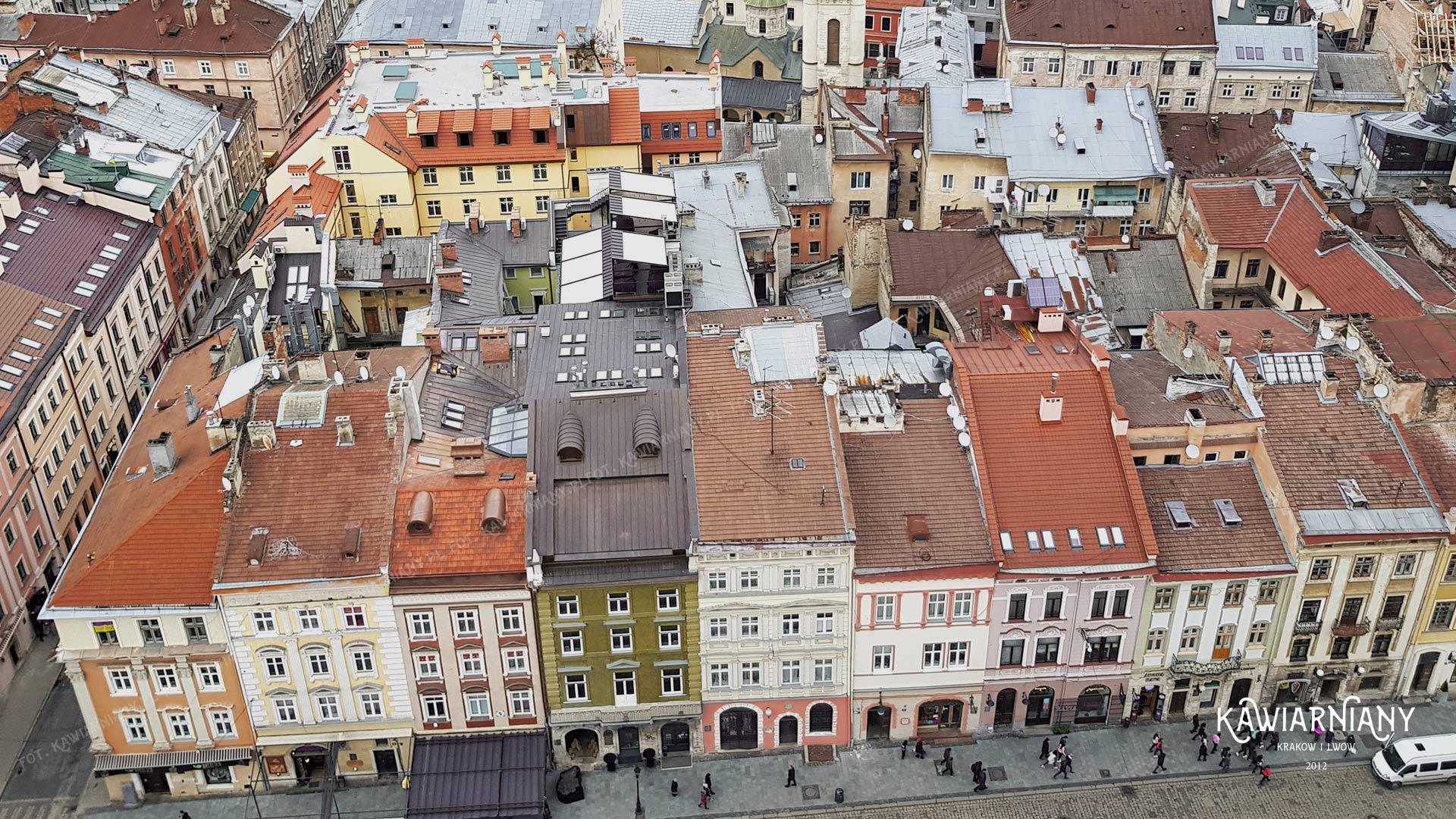 Panorama Lwowa, Rynek we Lwowie