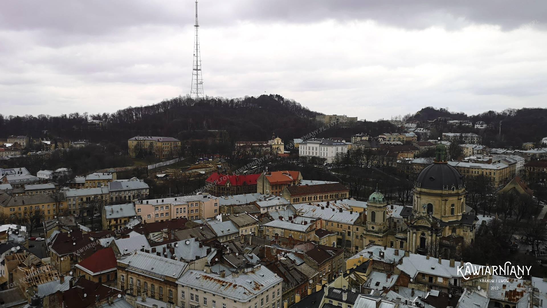 Wycieczka po dachach Lwowa, Kopiec Unii Lubelskiej, Wysoki Zamek Lwów
