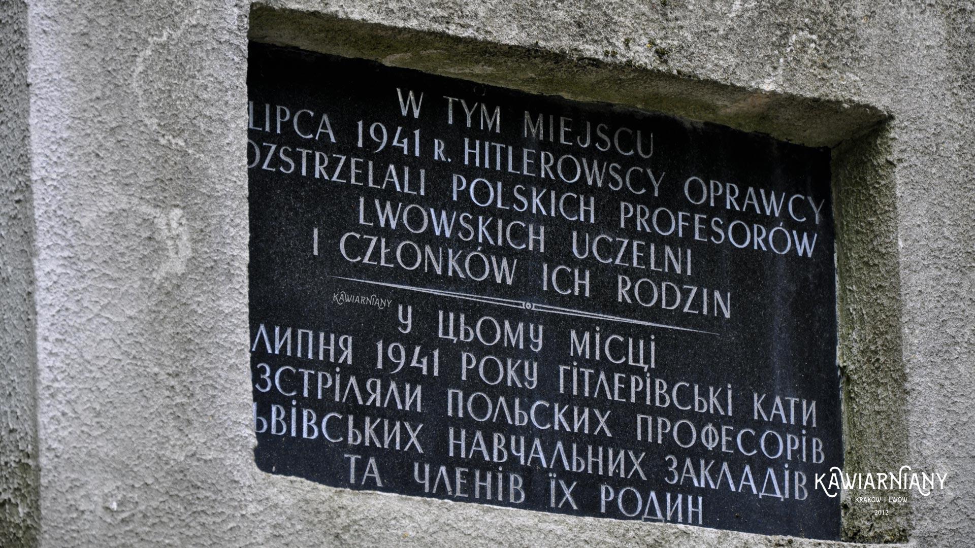 mord profesorów lwowskich