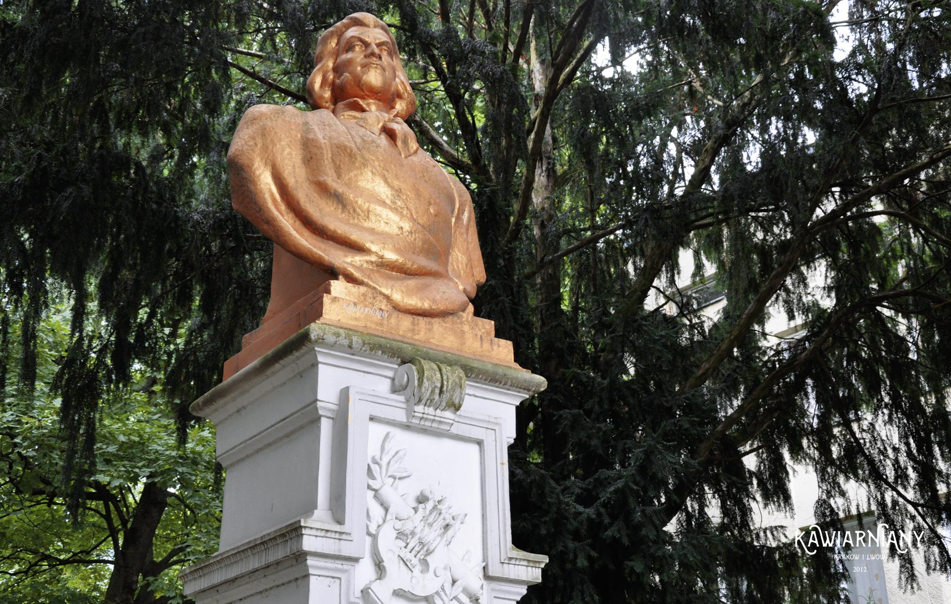 Pomnik Adama Mickiewicza w Drohobyczu
