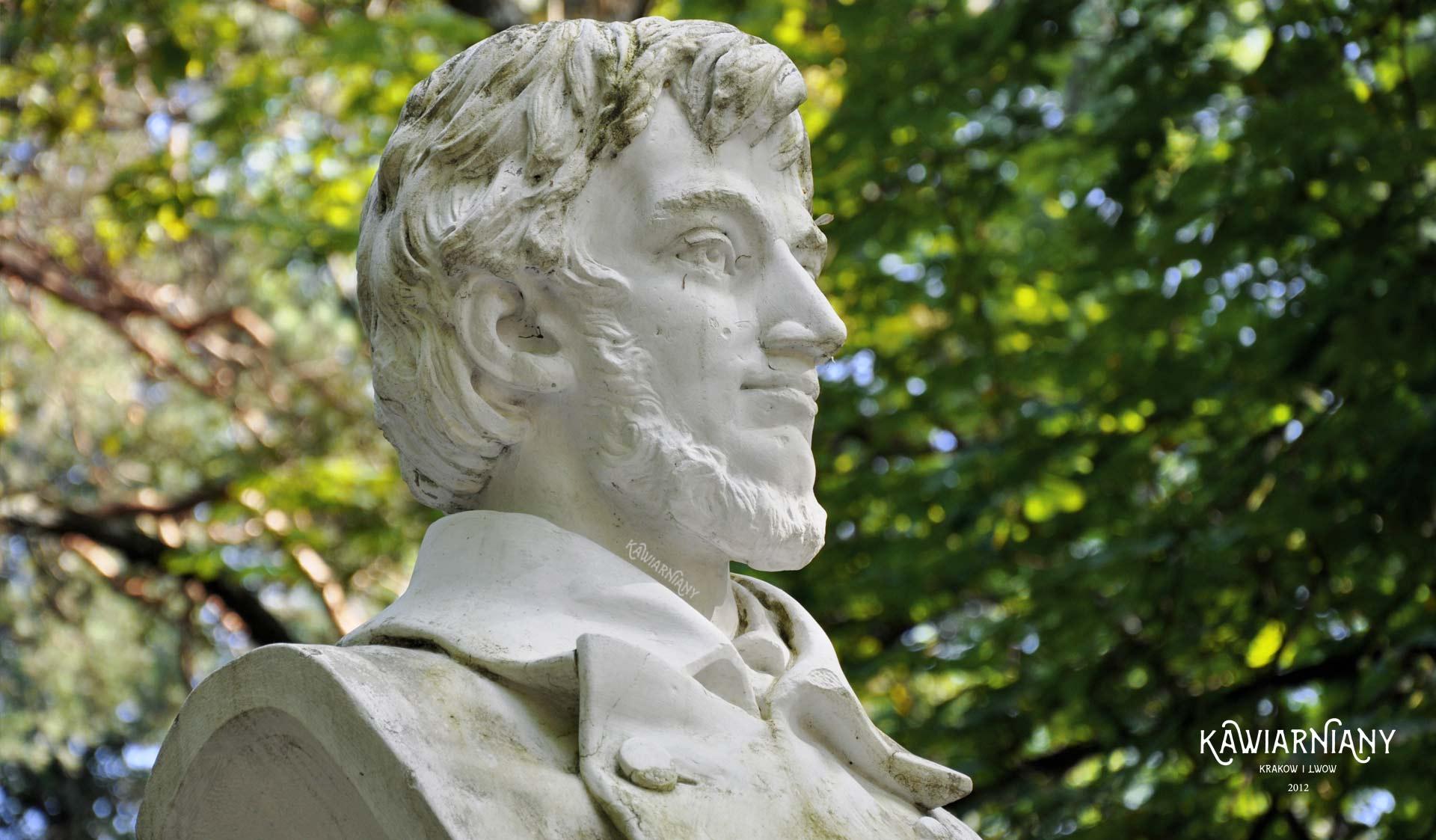 Truskawiec - pomnik Adama Mickiewicza