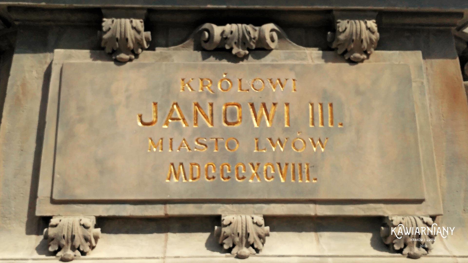Pomnik Jana III Sobieskiego ze Lwowa w Gdańsku