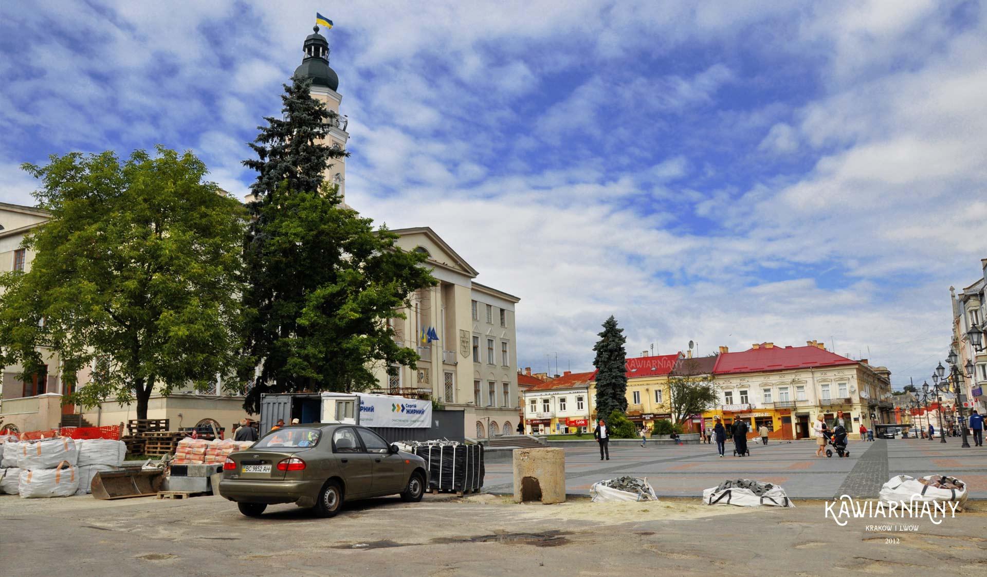 Ratusz w Drohobyczu