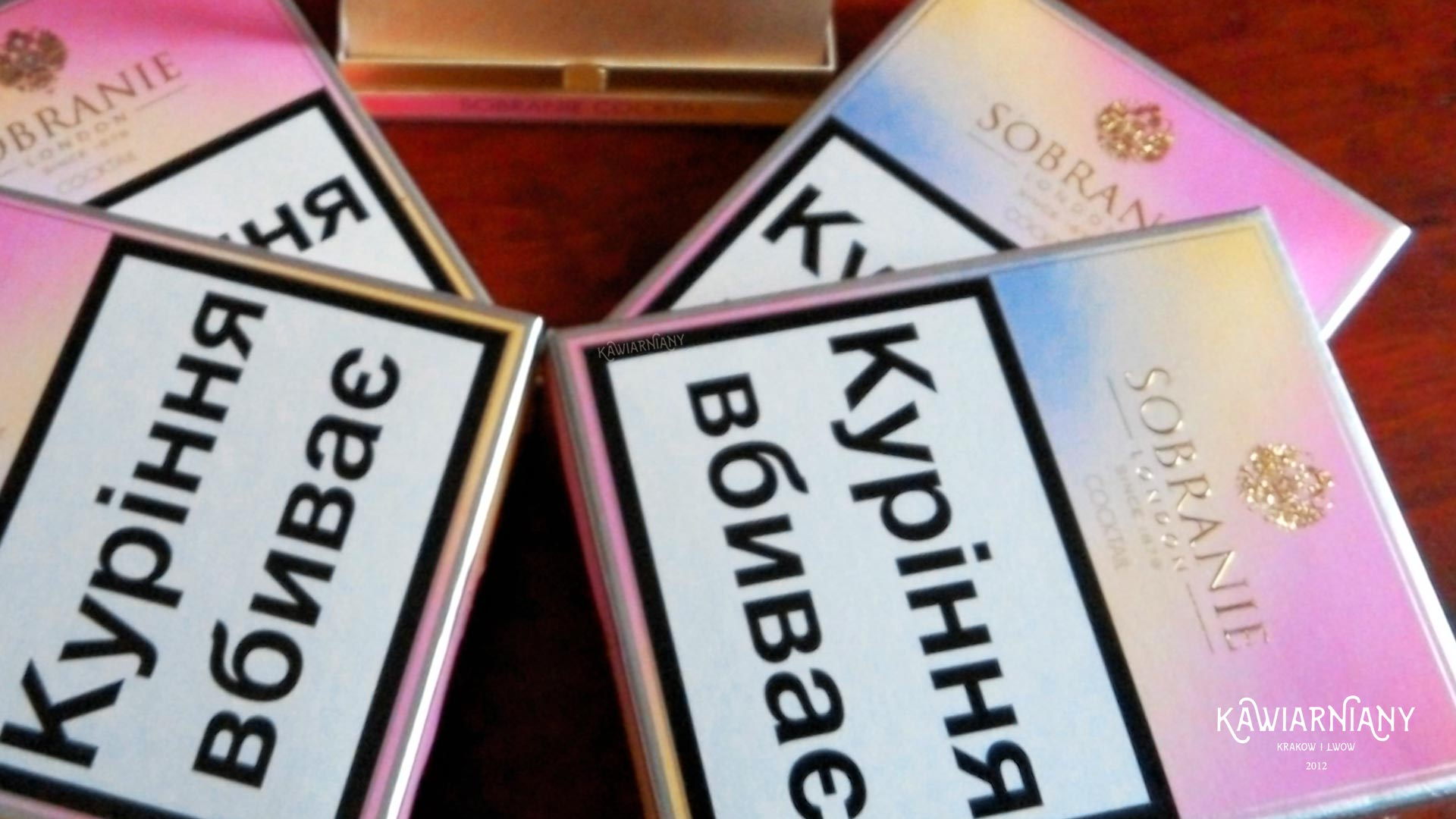 Cena papierosów na Ukrainie