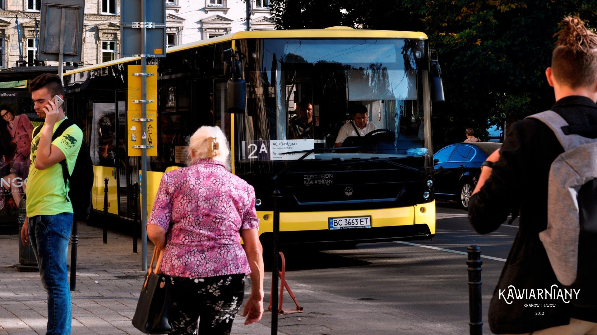 Autobusy we Lwowie