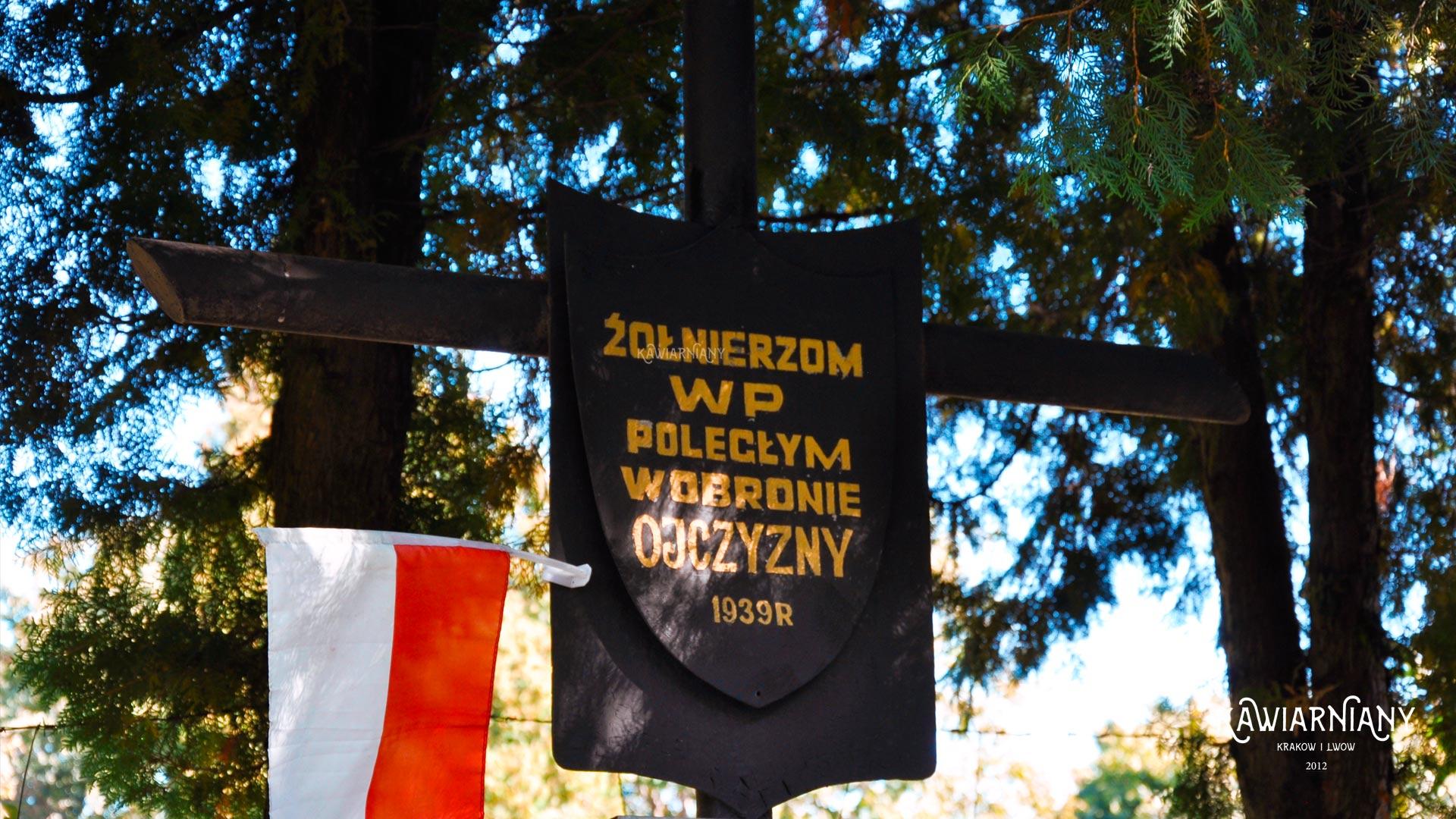 Zapomniany cmentarz z czasów Obrony Lwowa z września 1939 roku