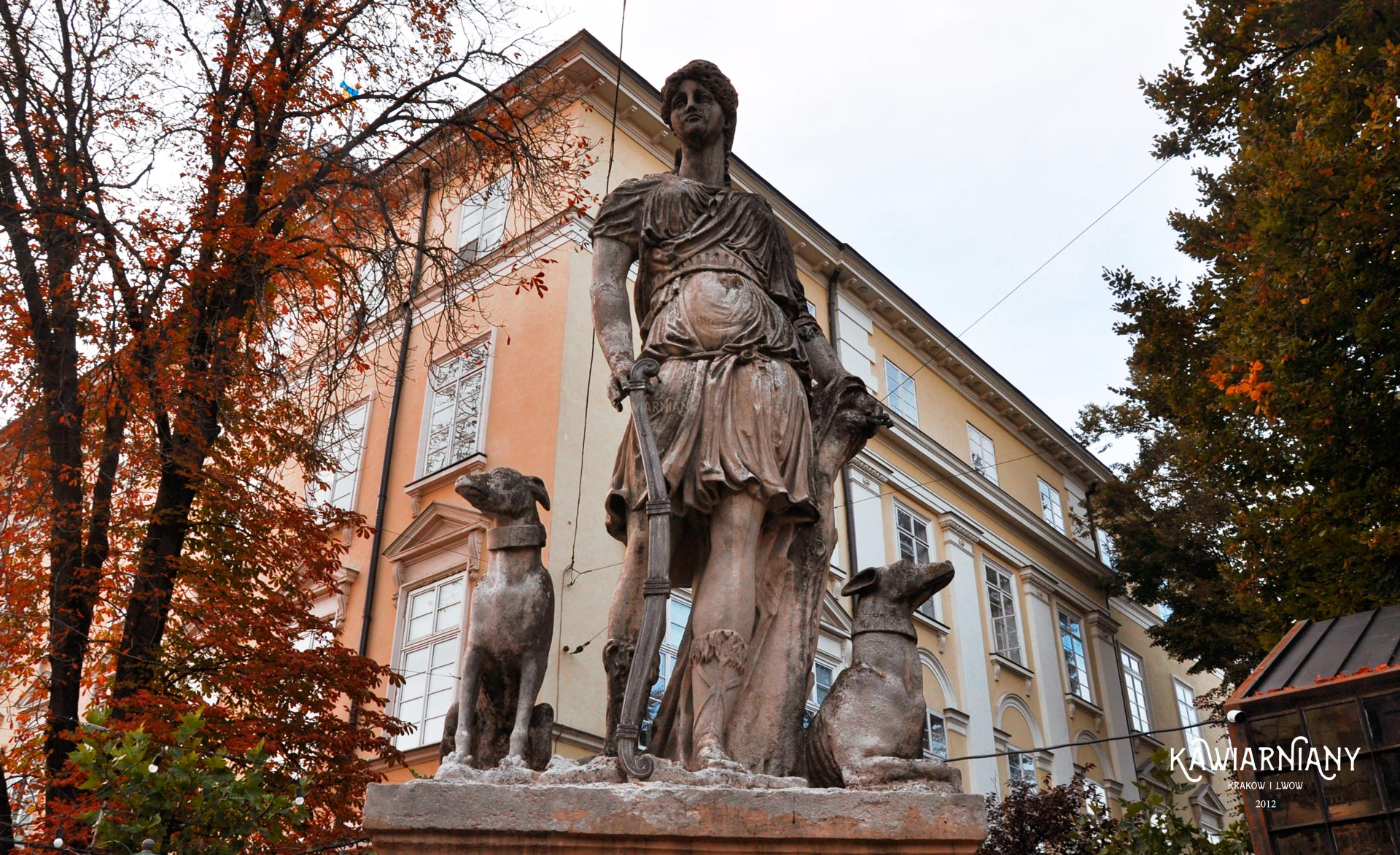 Fontanna we Lwowie