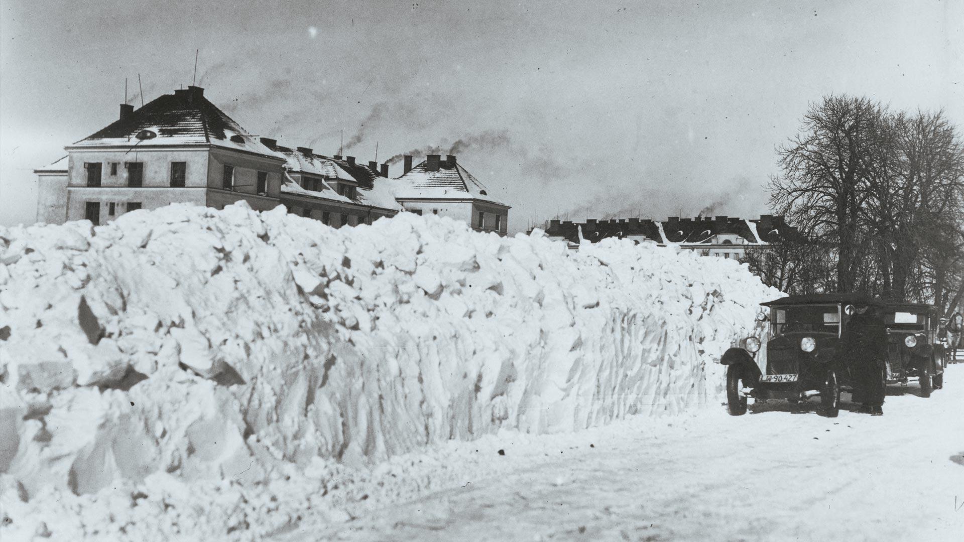 Kiedyś to były zimy, teraz to nie ma zim. Tak przed wojną wyglądała zima we Lwowie