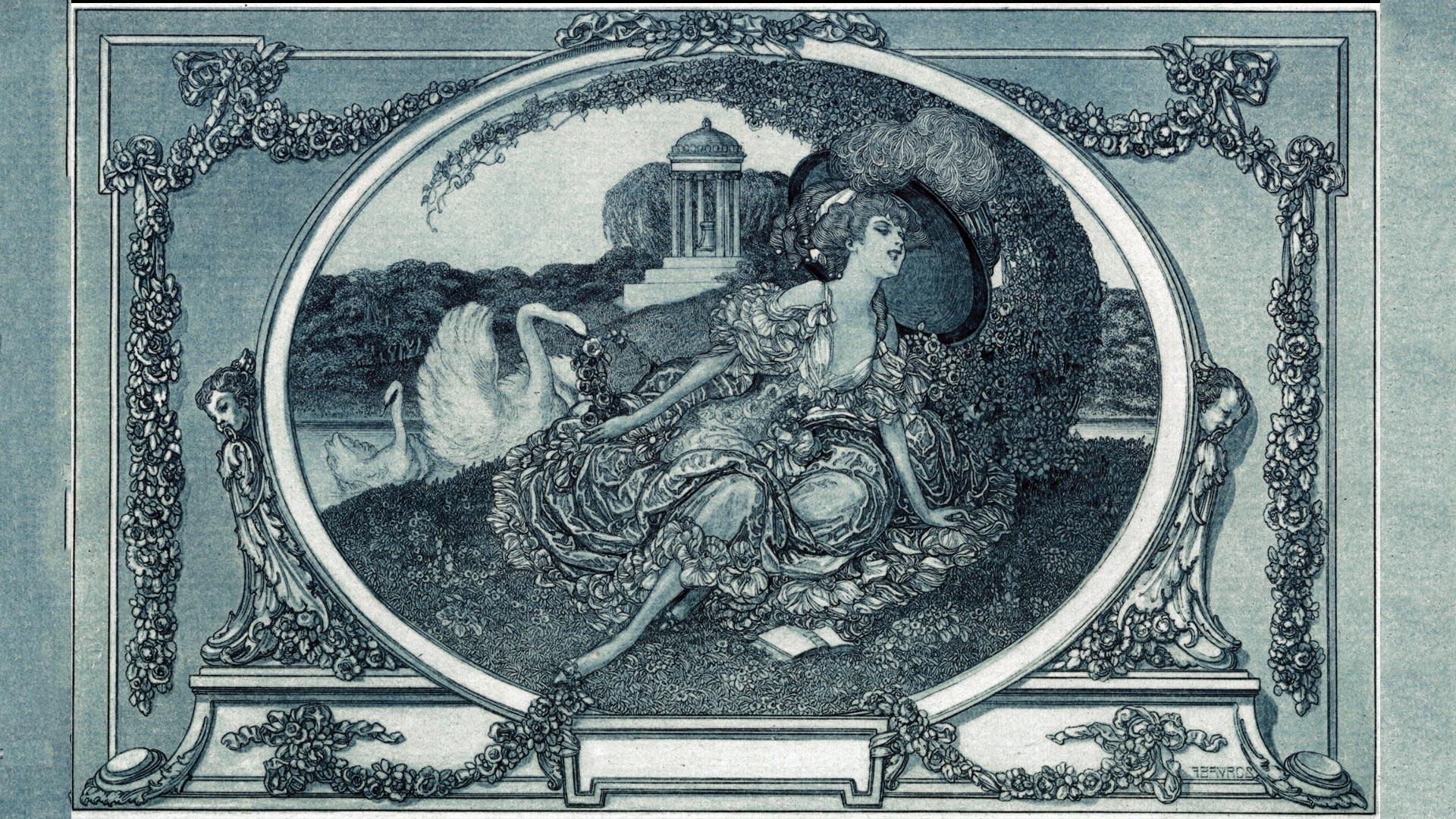 Franz von Bayros – przed wojną nie każdy był świętoszkiem