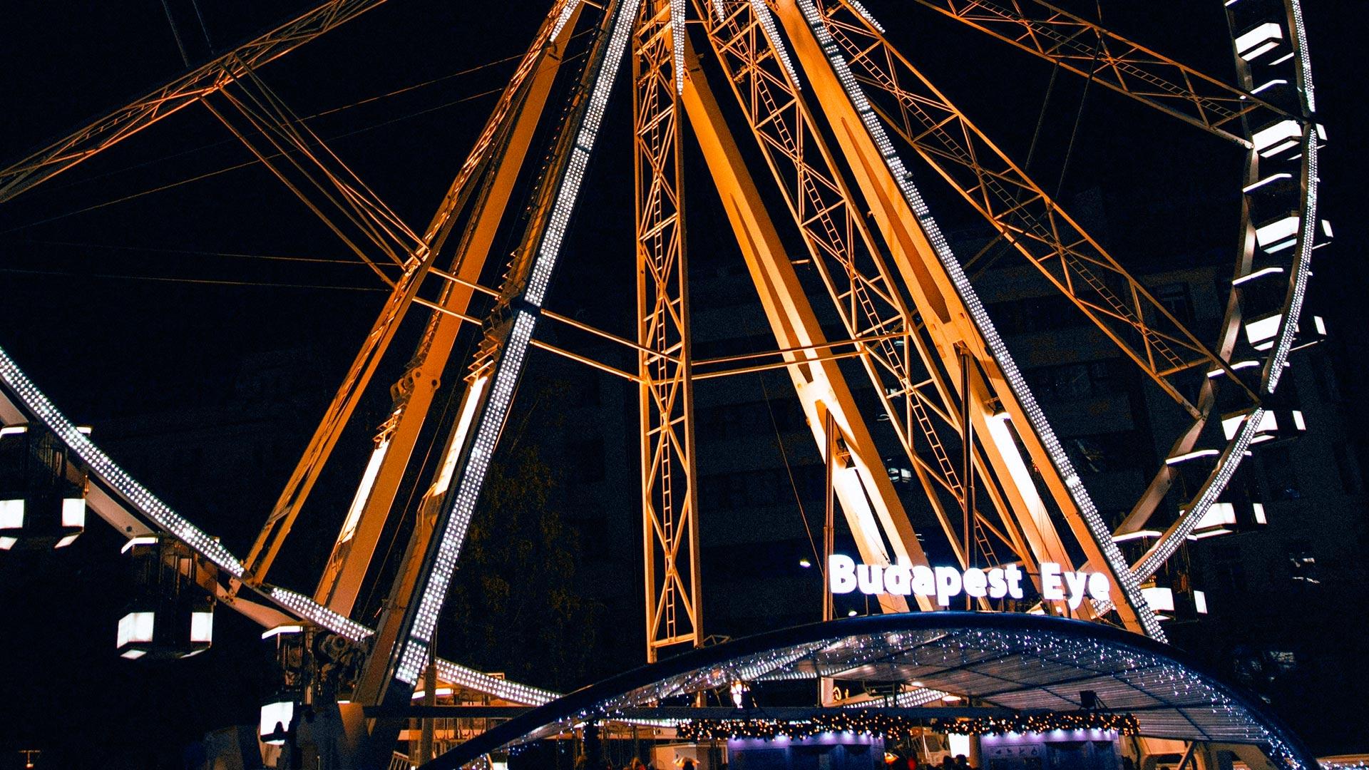 Budapest Eye – diabelski młyn w Budapeszcie.  Cennik i wysokość