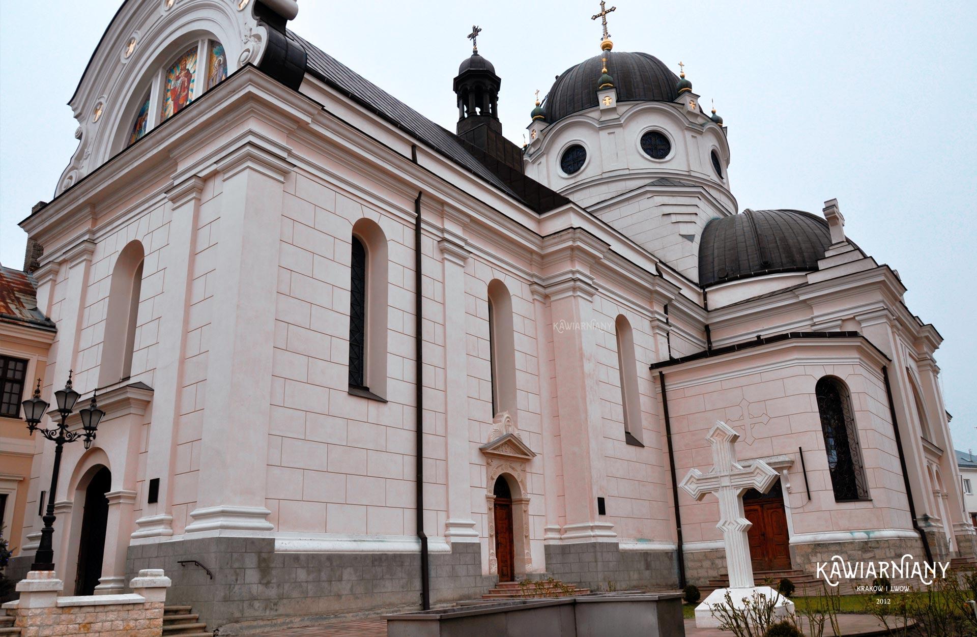 Cerkiew bazylianów w Żółkwi