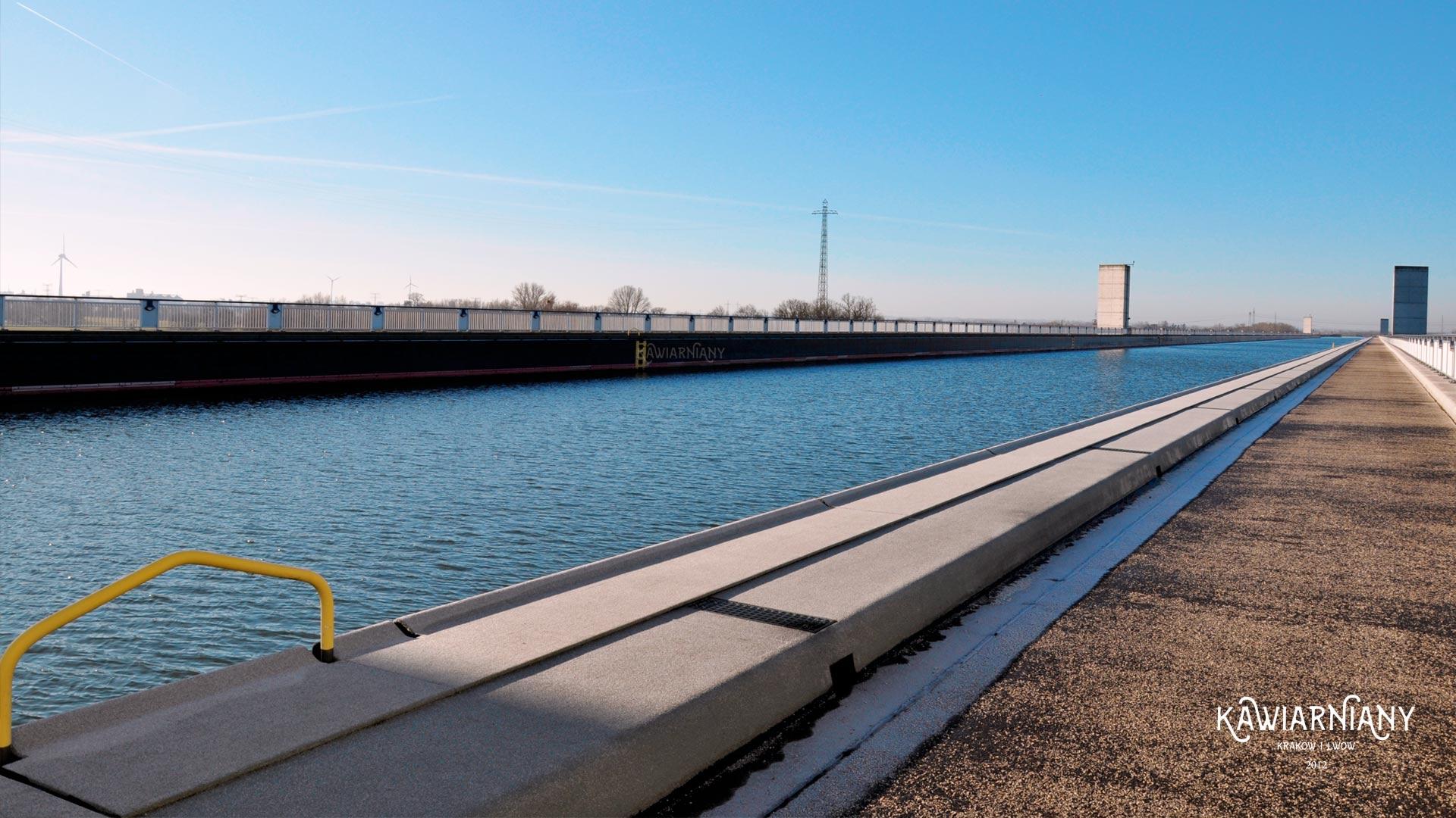 Kanalbrücke Magdeburg czyli most… dla łodzi w Magdeburgu