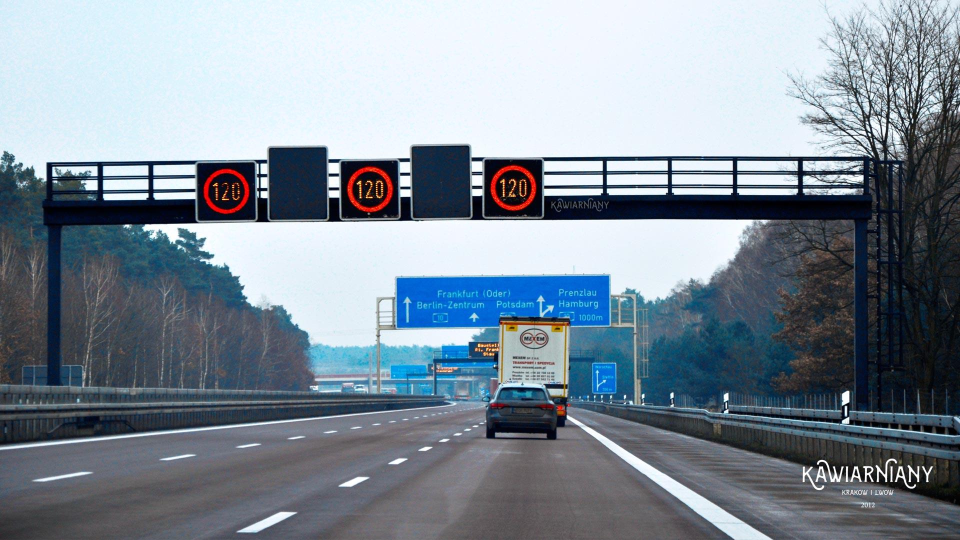 Niemieckie autostrady – zasady, ograniczenia i prędkości, opłaty, porady
