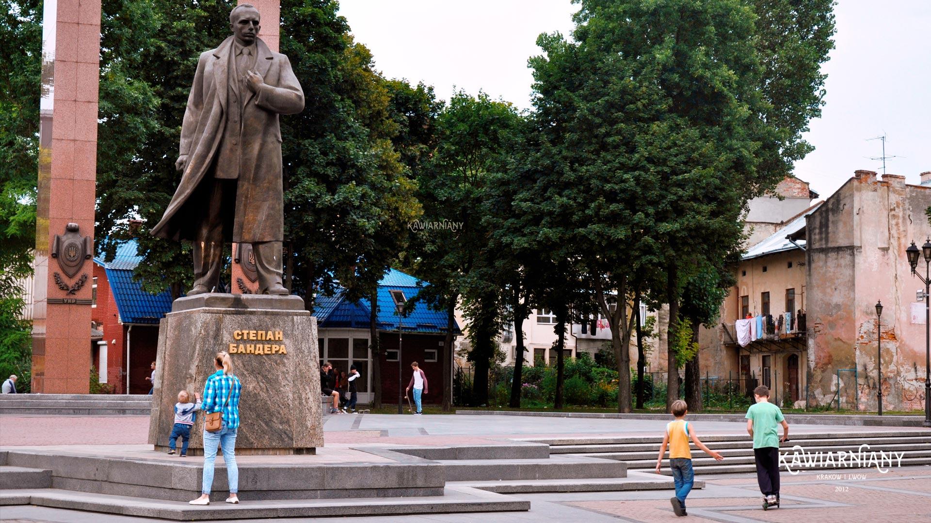 Pomnik Stepana Bandery we Lwowie. Czy jest? Gdzie stoi?