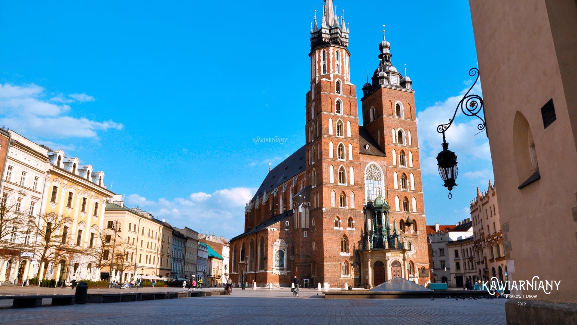 Pusty Kraków chowa się przed koronawirusem. Zobacz miasto widmo (GALERIA)