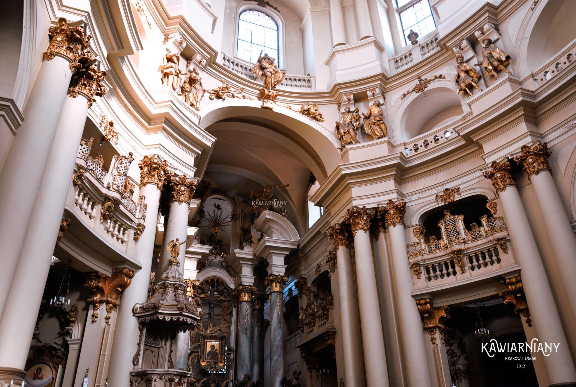 kościół bożego ciała lwów