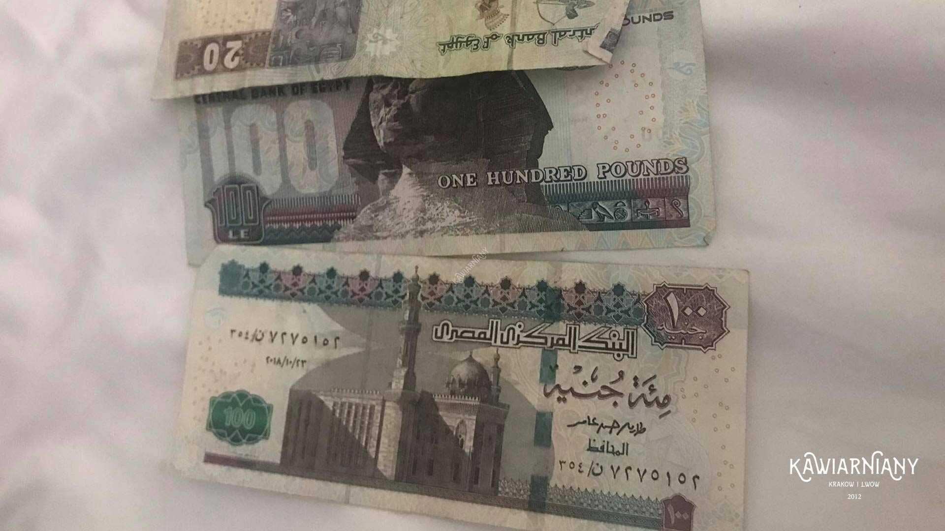 Jaka waluta jest w Egipcie? Jakie pieniądze wziąć do Egiptu?