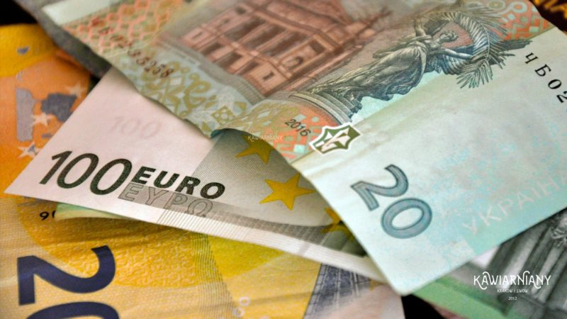 euro na ukrainie