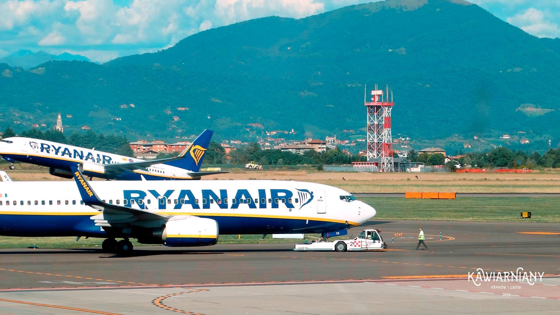 Ryanair z Ukrainy do Włoch. Jest zgoda na 28 połączeń tygodniowo