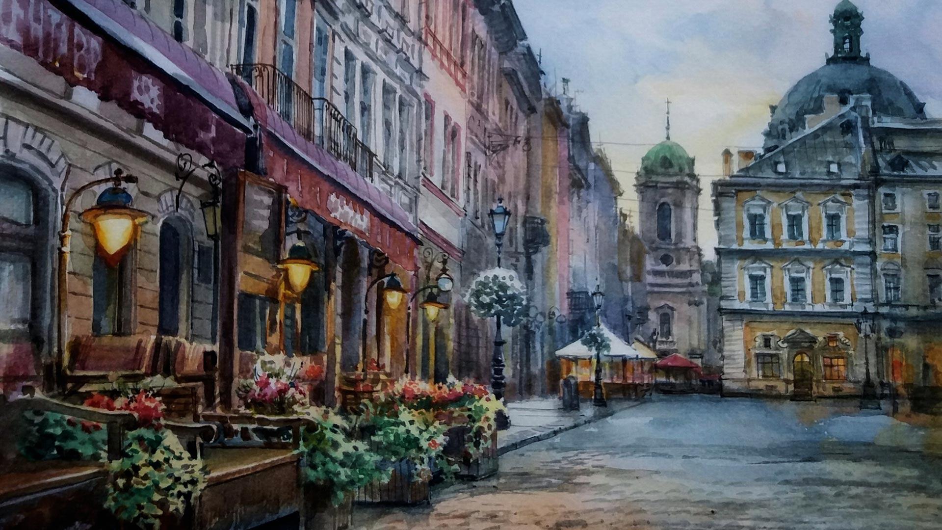 21 NIESAMOWITYCH widoków Lwowa dla siedzących w domu (GALERIA)