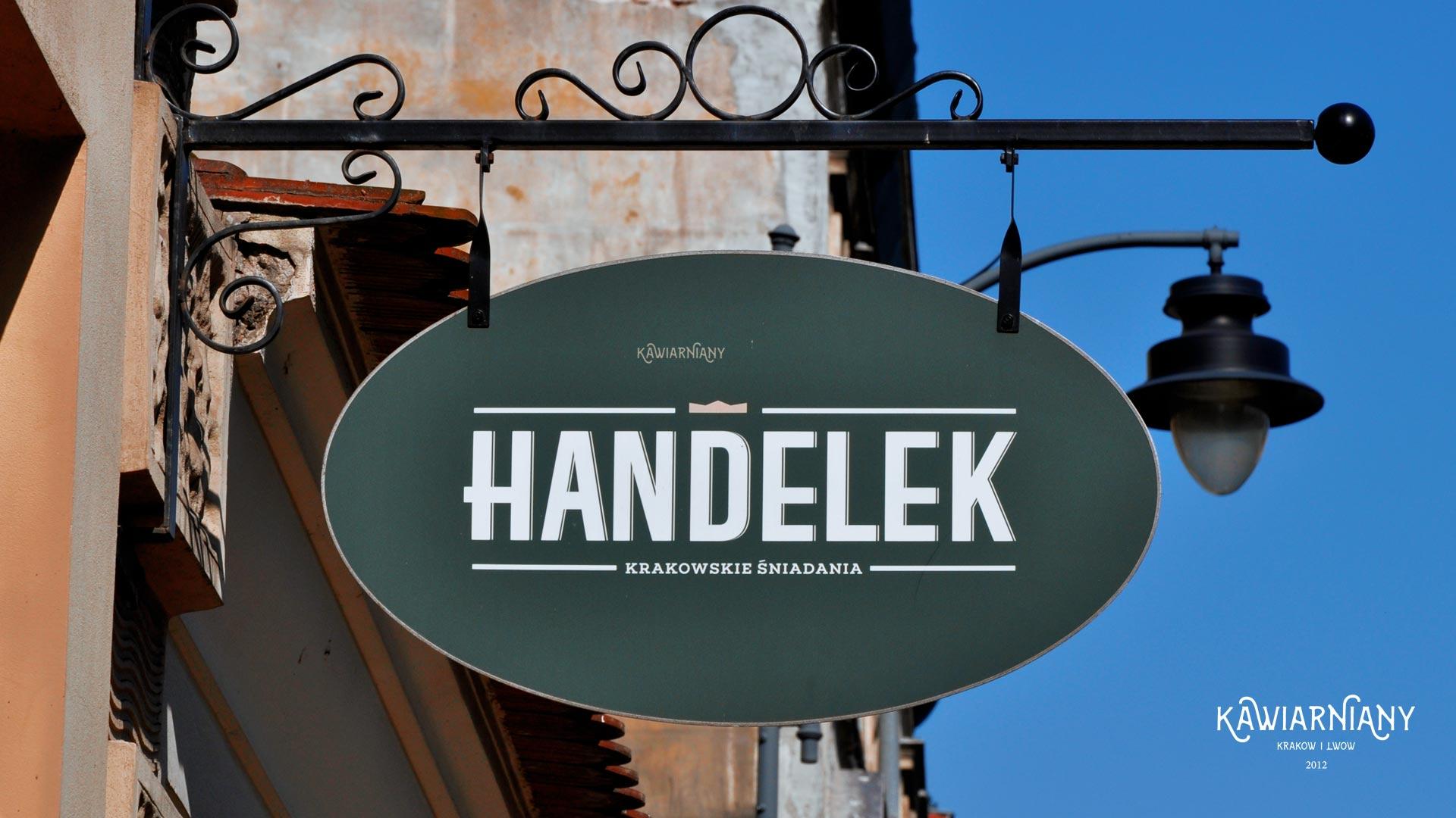 Śniadaniowy lokal Handelek – najtańsze śniadania w Krakowie?