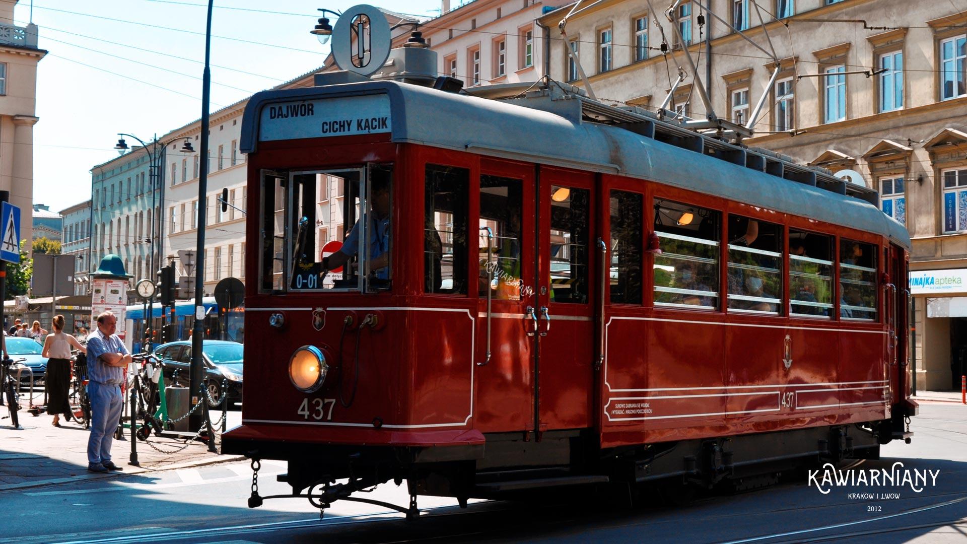 Krakowska Linia Muzealna – zabytkowym tramwajem przez Kraków