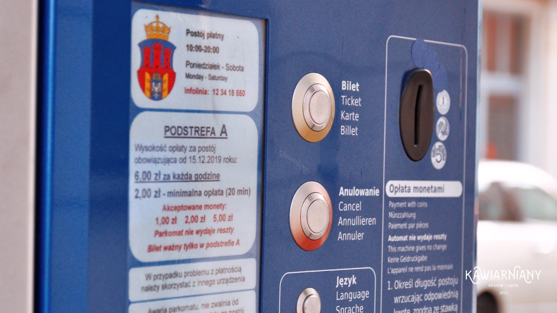 Kraków kiedy płatne parkowanie? Kiedy strefa w Krakowie?