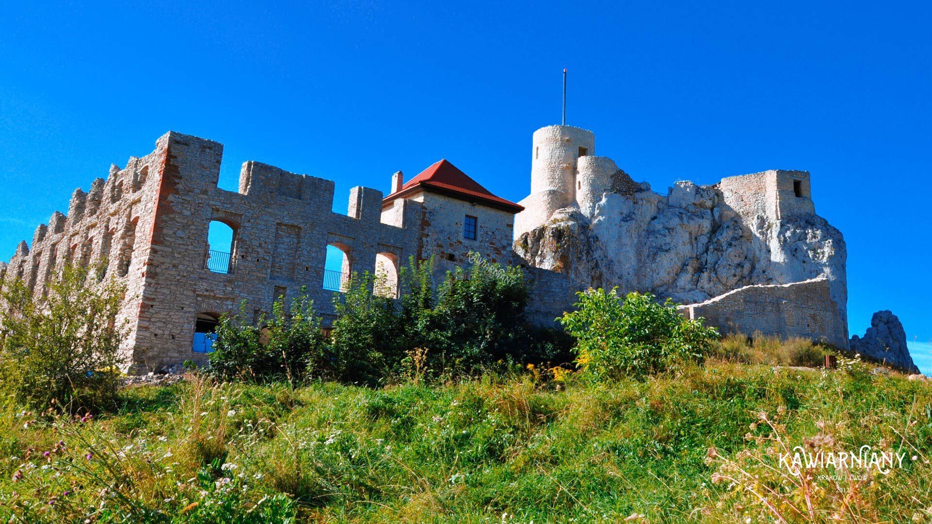 zwiedzanie zamku rabsztyn