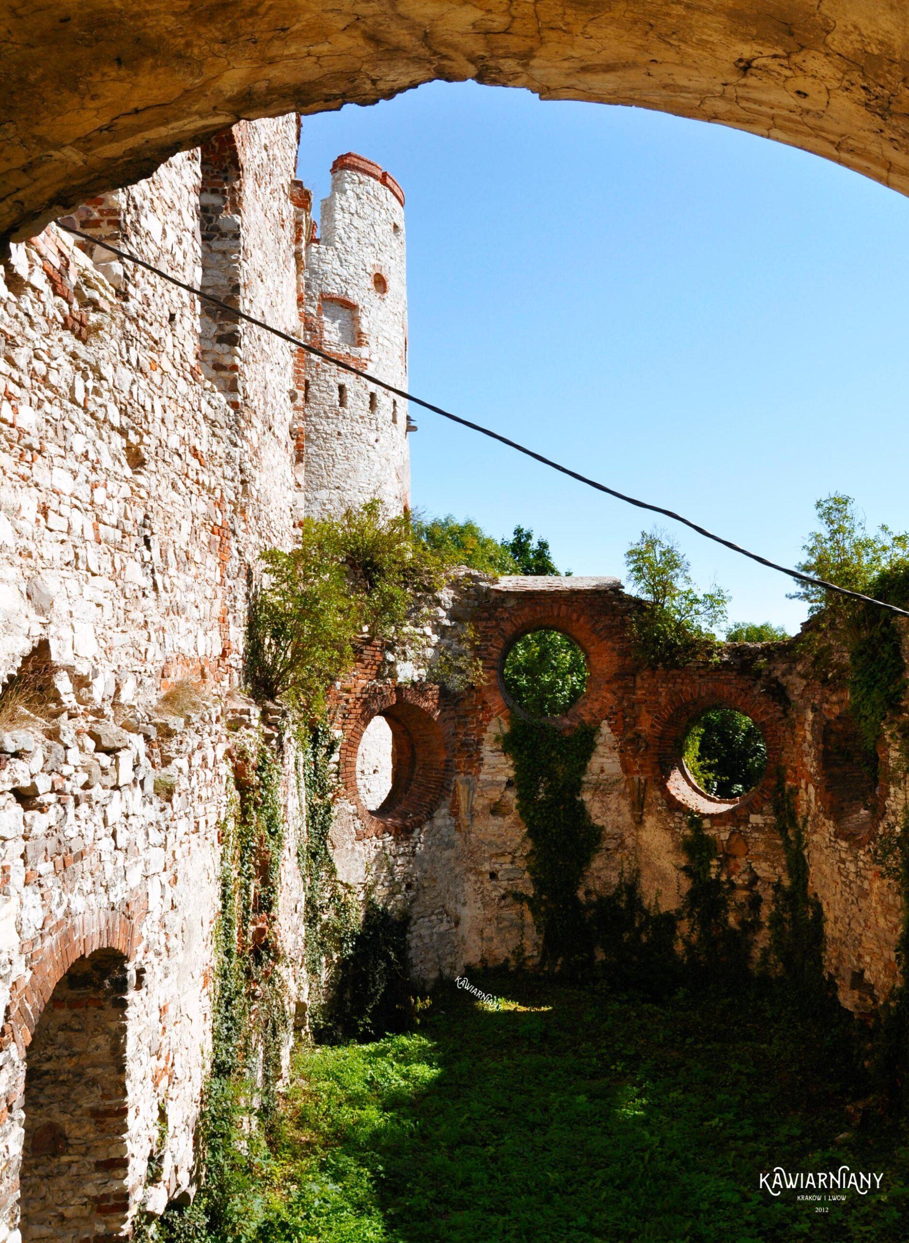 zamek tenczyn zwiedzanie