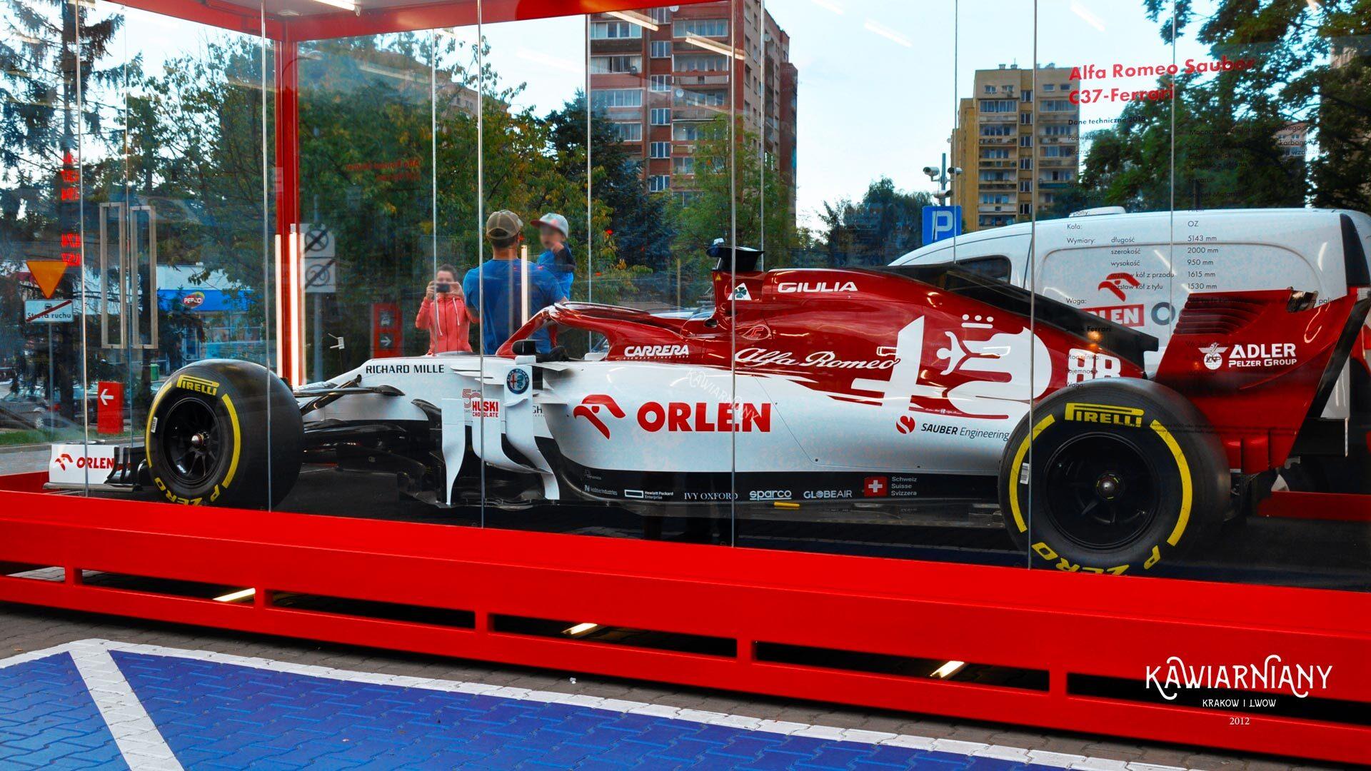 Bolid F1 Alfa Romeo Racing Orlen w Polsce. Gdzie i kiedy?